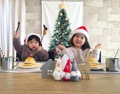 【クリスマス】ツリータペストリーなら気軽に楽しめる!畳んでぺたんこに♪
