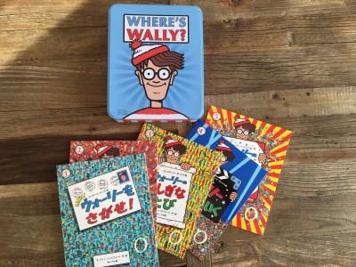 年末年始に大活躍!「ウォーリーをさがせ!」の缶入り5冊セットが楽しい☆