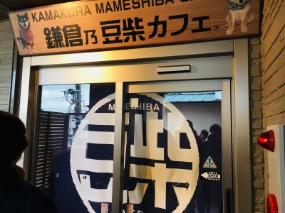 テレビで話題の「鎌倉乃豆柴カフェ」に子連れで利用、混み具合や感想など