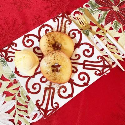 超簡単!材料3つ&フライパン1つで出来る『時短焼きりんご』