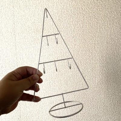 【セリア】シンプルで可愛いクリスマスフックツリー♡
