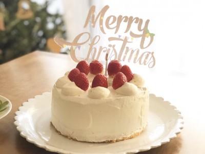 【クリスマスパーティ】100均アイテムでケーキトッパーを作ってみました