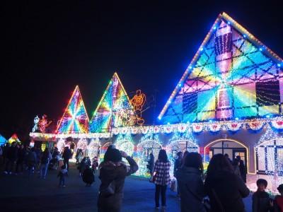 今年初イルミネーションは東京ドイツ村へ!