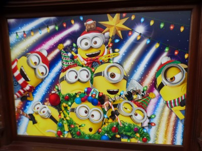 【USJ】可愛すぎ♡ミニオンパークのクリスマス!!