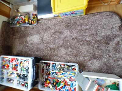 1.5帖押し入れ部屋を断捨離でレゴ部屋に大改造!!