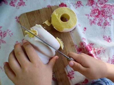 【マチカフェ】年末年始の手土産♡ホワイトチョコバウム
