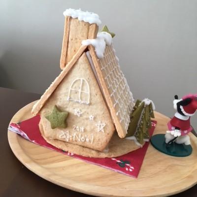 カルディキットでへクセンハウス作り☆子どもとクッキー作りに○○が便利♪