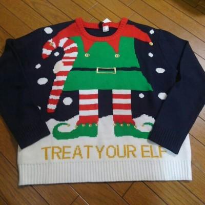 【H&M】ダサセーターが熱い!親子リンクコーデにも!【クリスマス】