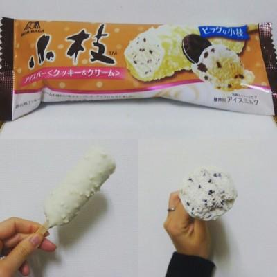 【ファミマ限定】小枝アイスバークッキー&クリームは小枝だけど太い!!