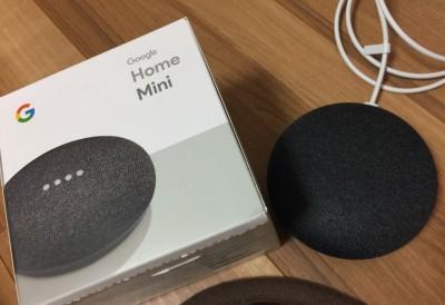【リポート】Google Home mini が家に来てどうなった?!