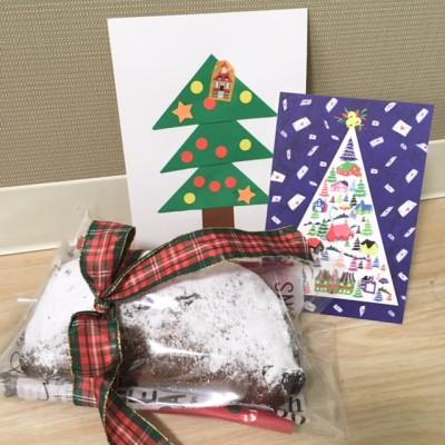クリスマス♪手作りシュトーレンをプレゼント☆