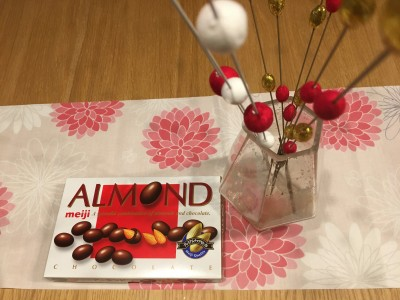 スキマ時間で【いのしし】アーモンドチョコレート作り!