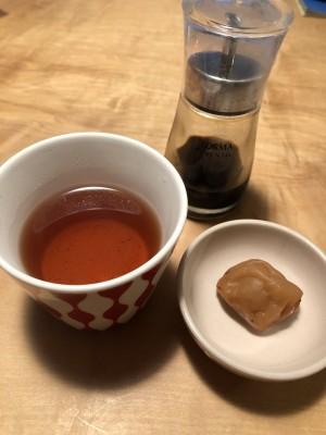 【風邪予防】体が温まる梅醤番茶とは。