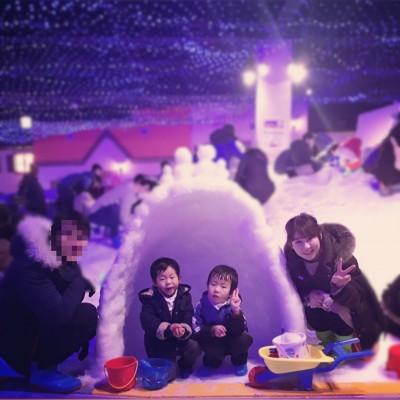 【あそびマーレ】一日中遊べる!楽しい雪遊び♫