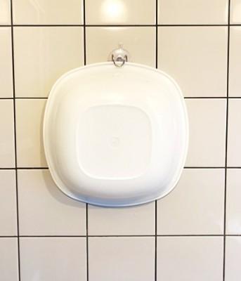 セリア「2WAYホルダー」で風呂桶を浮かせて収納!注意点も?!