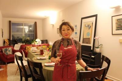 ママのお仕事拝見[ NY版 ]日本人ママをつなげるママ向け講座サロン主宰者