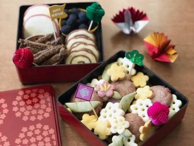 【お正月】こども達とおせち風クッキーを焼いてみました(^^)
