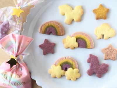 【セリア】クッキーのMIX粉がカラフルすぎ!親子で楽しむお菓子作り♪