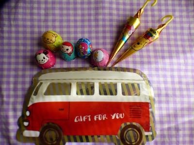 今年のバレンタインチョコはバスに乗せま~す♡