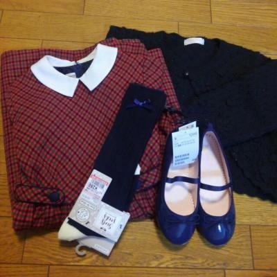 【入学式】ブランドワンピースも格安ゲット、総額5千円以下の女の子コーデ