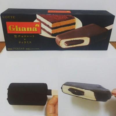 【新作レポ】ガーナ生チョコレート×ティラミスはねっとり生チョコが合う!