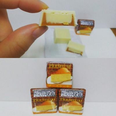 【ファミマ先行】チロルチョコプレミアムチーズケーキがしっとり美味しい!