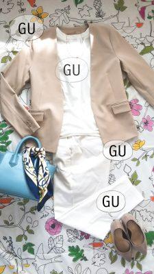 【GU】卒・入園におすすめ!全身GUで入学式コーデ一式揃えてみた!!!