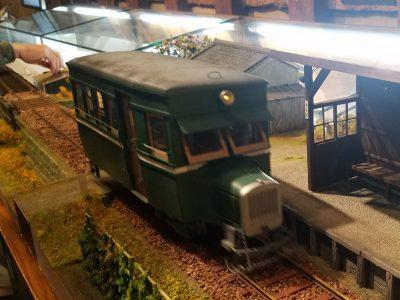 今はなき天理軽便鉄道の模型運転会
