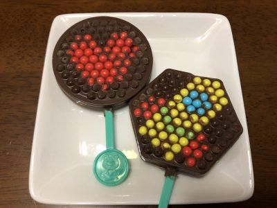 【バレンタイン】まるでアクアビーズ♪子どもが夢中でチョコ作り