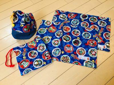 入園入学【ランチョンマットの作り方】布の端処理不要。丈夫で3年もつ!