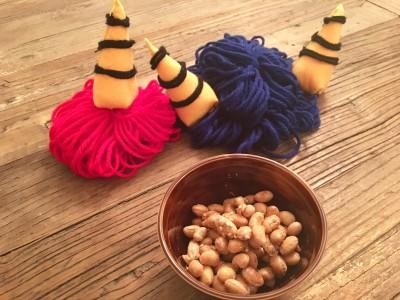 節分で余った福豆をおやつに簡単アレンジ、すぐ完成!材料はお砂糖だけ♪
