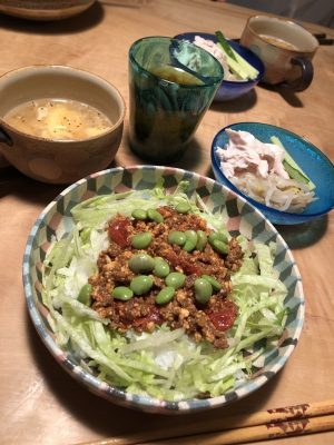 【ひき肉レシピ】ヘルシータコライス