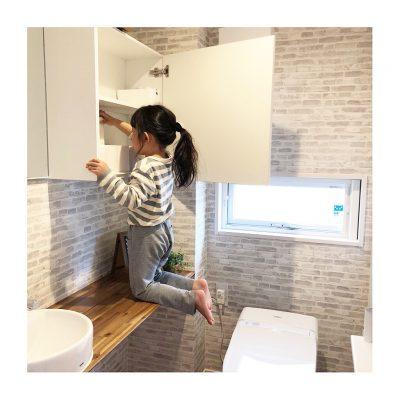 【トイレ】我が家の収納とインテリア