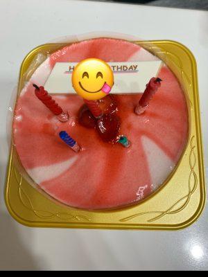 不二家のストロベリーポップケーキが程よい甘さ!