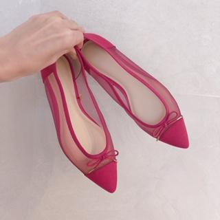 【GU新作】チュールレースが可愛い新作靴!