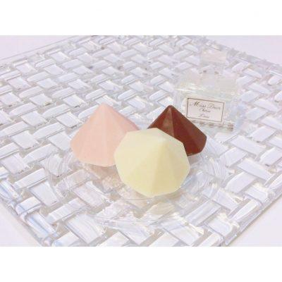 【バレンタイン】シリコン製◯◯で簡単ダイヤモンドチョコ