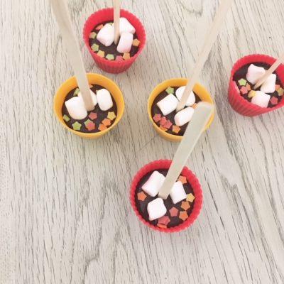 バレンタイン直前!材料3つで簡単手作りホットチョコレートスプーン♡