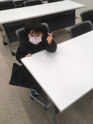 園児☆はじめての漢検に挑戦!試験当日の様子