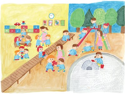 幼稚園って楽しい! 遊びを通して学びを発見