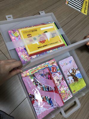 【無印良品】娘のお絵描きお道具箱にぴったりなケース!