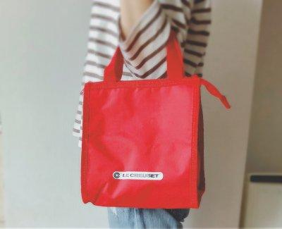 【ル・クルーゼ】LEE4月号付録の保冷バッグがオシャレで使える!