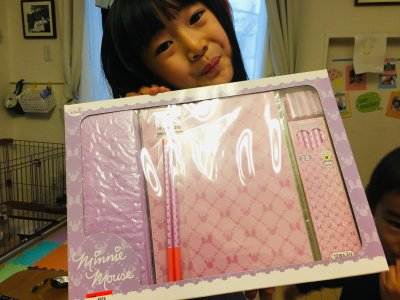 【新年長児必見!】破格値で購入した筆箱セット。1年待ってついに解禁!