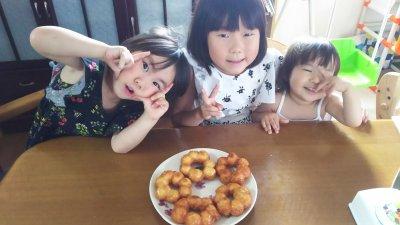 二歳差・三姉妹との賑やかな生活♪一年間よろしくお願いします