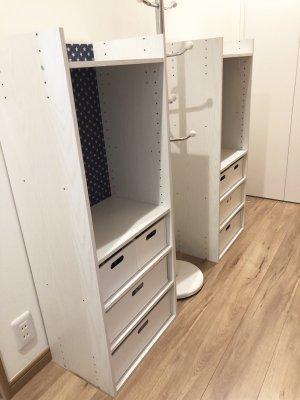 【入園準備】ニトリのカラボとセリアの○○で子供用収納棚を作ってみた!