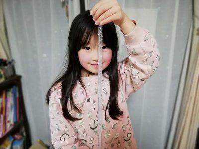 6歳の娘とゆめかわいい「キラキラスライム」作り方と注意点