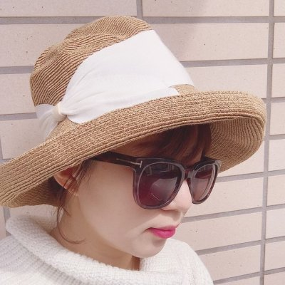 紫外線対策も帽子でおしゃれに♡