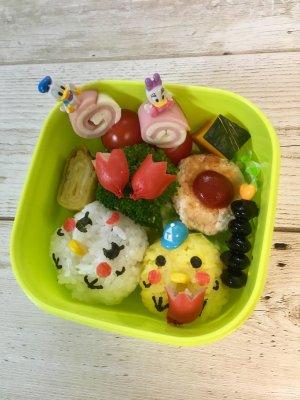 【キャラ弁】進級お弁当♡