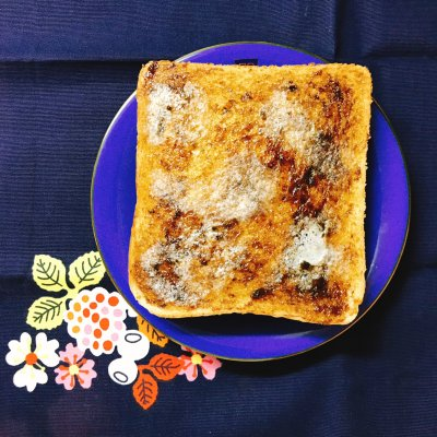 【トーストアレンジ】 ご飯のお供がパンにも合う!簡単すぎてごめんなさい