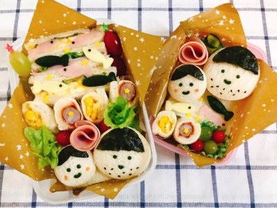 【父の日】父子お揃い弁当でパパを驚かせよう!