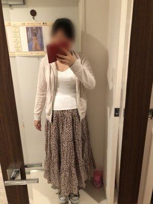 【GU】大人でも履けるティアードフレアロングスカートと値下がり品!